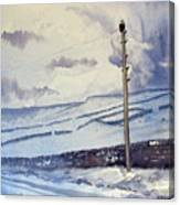 Winter Walkers Canvas Print