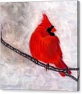 Winter Watch Canvas Print