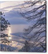 Winter Waterscape Canvas Print