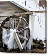 Winter Wheel Canvas Print