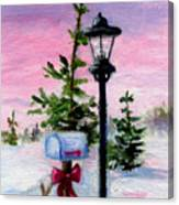 Winter Wonderland Aceo Canvas Print