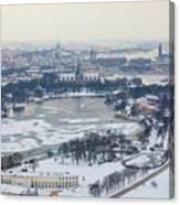 Winter Wonderland In Stockholm Canvas Print