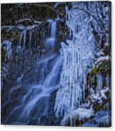 Winterfalls Canvas Print