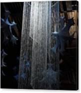 Winterfest Chandelier Spotlight Canvas Print