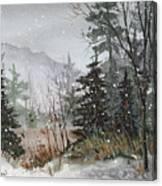 Winterlude Canvas Print