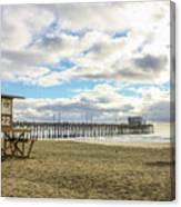 Winters Beach Canvas Print