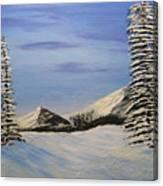 Winters Chill Canvas Print