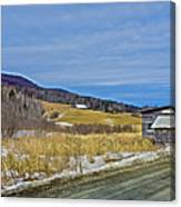 Winters End Canvas Print