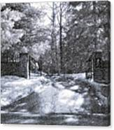 Winter's Gates Canvas Print