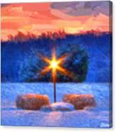 Winter's Morn Canvas Print