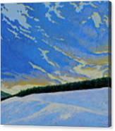 Winters Morning Magic Canvas Print