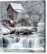 Winter's Rest Canvas Print