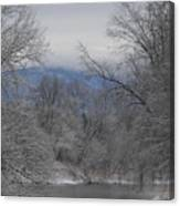 Winters Retreat Canvas Print