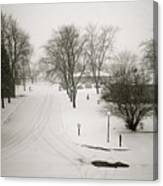 Winters Silence Canvas Print