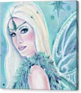 Winters Song Fairy Canvas Print
