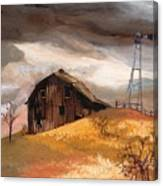 Winterstorm Canvas Print