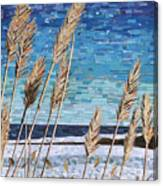 Wintertime On Lake Erie Canvas Print