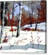 Wintertime Painting Canvas Print