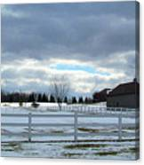Wintery Day Canvas Print
