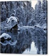 Wintery Landscape Canvas Print