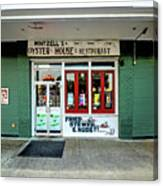 Wintzells Front Door In Mobile Alabama Canvas Print