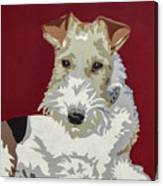 Wirehaired Fox Terrier Canvas Print