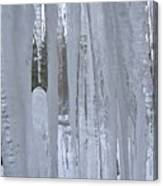 Wisconsin Icicles Canvas Print