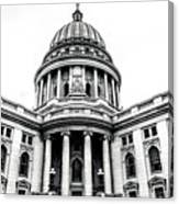 Wisconsin's Capitol Canvas Print