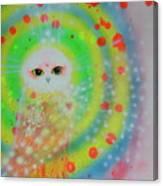 Wisdom Of  The Owl  Canvas Print