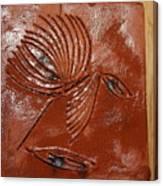Wise Eyes - Tile Canvas Print