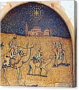 Wise Men Reaching Beit Sahour Canvas Print