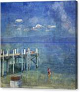 Wish You Were Here Chambers Landing Lake Tahoe Ca Canvas Print