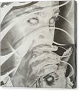 Wisper Black Ribbon Collection#2 Canvas Print