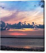 Wispy Cloud Bay Canvas Print