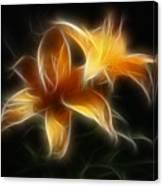 Wispy Lilies Canvas Print