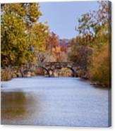 Wissahickon Autumn Canvas Print