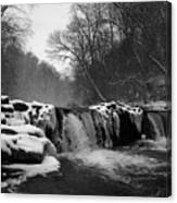 Wissahickon Snow Canvas Print