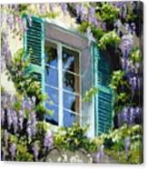 Wisteria In Provence Canvas Print
