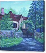 Wisteria Mansion Canvas Print