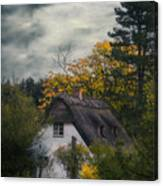 Witch Cottage Canvas Print