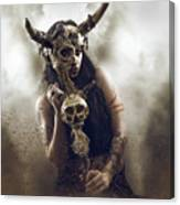Witch Doctor 2 Canvas Print