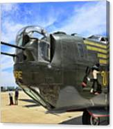 Witchcraft Wwii Bomber Canvas Print