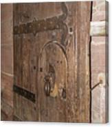 Witches Bite Door Heidelberg Castle Canvas Print