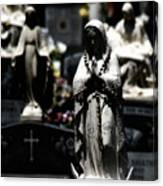 With Every Bead A Prayer Canvas Print