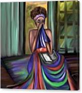 With Prayer Alone Canvas Print