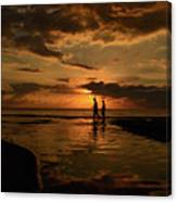 With You Canvas Print