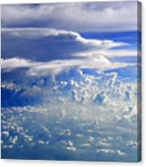 Within Clouds Canvas Print