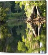 Withlacoochee Cypress Reflections Canvas Print