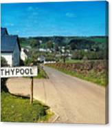 Withypool Canvas Print