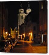 Wittenberg Night Canvas Print